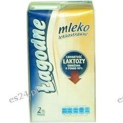 Warmia Łagodne mleko UHT 2% lekkostrawne o obniżonej zawartości laktozy 1000ml