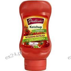 Pudliszki ketchup bez konserwantów - wygodna butelka, czysta zakrętka łagodny 430g