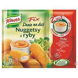 Knorr Fix Danie na dziś Nuggetsy z ryby panierka + sos tysiąca wysp 69g
