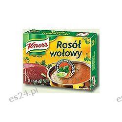 Knorr rosół w kostkach wołowy 6szt