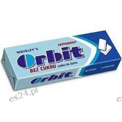 Orbit gumy do żucia w drażetkach mocno miętowe niebieskie 14g