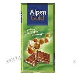 Alpen Gold czekolada mleczna z orzechami laskowymi 100g