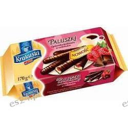 Krakuski Paluszki z galaretką malinową w czekoladzie 170g