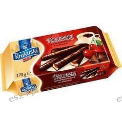 Krakuski Paluszki z galaretką wiśniową w czekoladzie 170g