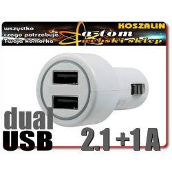 Ładowarka Samochodowa USB tablet nawigacja telefon