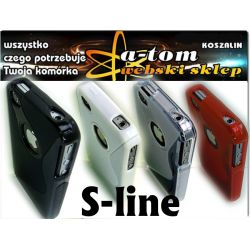 stylowe etui futerał Armor S-line iPhone 4 4G / 4S