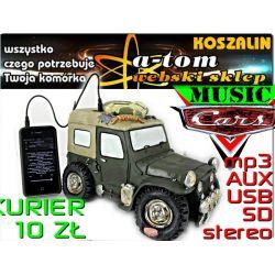 4w1 Głośnik do telefonu +odtwarzacz MP3 USB SD AUX