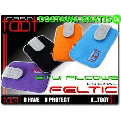 Filcowe etui futerał na Samsung c3530 c3780 C3322