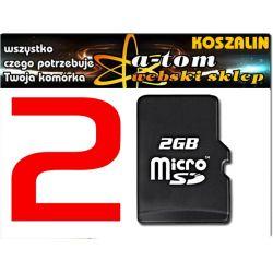 2GB KARTA PAMIĘCI microSD mikro SD SDHC do Samsung