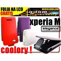 FUN etui futerał kabura do na Sony Xperia M +FOLIA