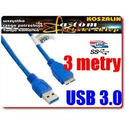 SAMSUNG GALAXY NOTE 3 N9005 Kabel USB 3.0 długi