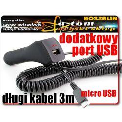 ŁADOWARKA do auta NOKIA Asha 301 210 501 515 208