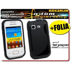 Etui futerał do Samsung Galaxy Pocket S5300 +FOLIA