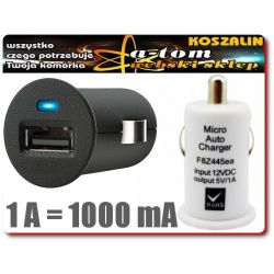 Ładowarka samochodowa USB 12v DO E-PAPIEROSA