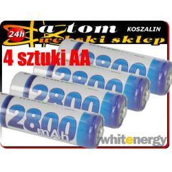 4 SZT x akumulator akumulatorek akumulatorki AA R6