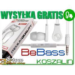Słuchawki BeBass GT LG OPTIMUS G  P920 P720 3D