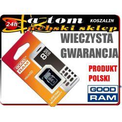 KARTA micro SD 8GB LG P500 T500 EGO T375 T385