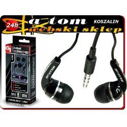 Słuchawki BLACK GT Alcatel OT 997D 6030 IDOL