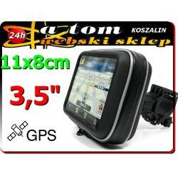 """Uchwyt motocyklowy do nawigacji GPS 3,5"""""""