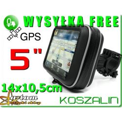 Uchwyt +Etui wodoodporne do GPS LARK TOMTOM