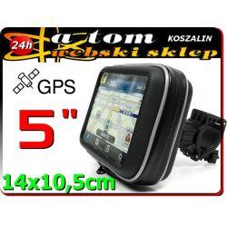 """Uchwyt motocyklowy do nawigacji GPS 5"""""""