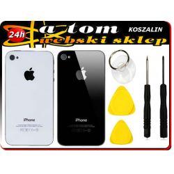 OBUDOWA TYŁ SZKŁO KLAPKA iPhone 4 4S +NARZĘDZIA