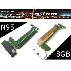 Taśma LCD kabel Nokia N95 8GB NOWA JAKOŚĆ! +elemen