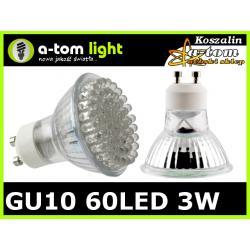 Żarówka GU10 80 LED biała ciepła 3.5W halogen