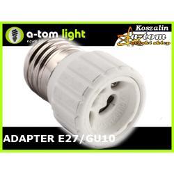 Adapter Redukcja E27/Gu10 do żarówka led oprawa