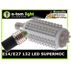 Żarówka led E14 E27 LED 6.8W MOCNA 60W z gratisem
