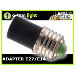 Adapter Redukcja E27/E14 do żarówka led oprawa