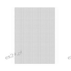 Papier milimetrowy, A3.