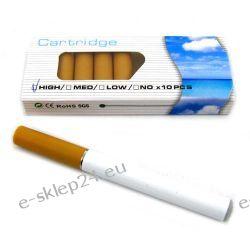 E-papieros + 10 wkładów + ładowarka
