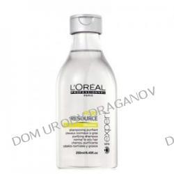 Loreal Expert Hydra Scalp Pure Resource, szampon oczyszczający, 250ml