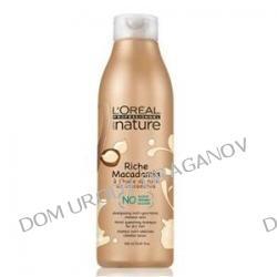 Loreal Serie Nature Riche Macadamia, ekologiczny szampon do włosów suchych, 250ml