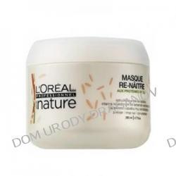 Loreal Serie Nature Source Re-Naitre, ekologiczna maska do włosów uwrażliwionych, 200ml