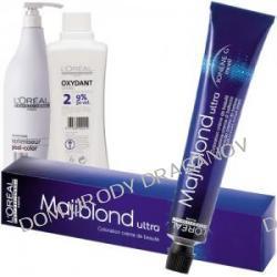 Loreal Majiblond, zestaw do koloryzacji: krem koloryzujący Majiblond 50ml + Oxydant 100ml + szampon zamykający koloryzację Optimiseur Post-Color 25ml