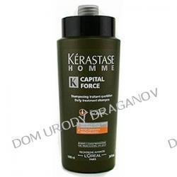 Kerastase Homme Bain Capital Force Action Densifiante, szampon, kąpiel zagęszczająca włosy, dla mężczyzn, 1000ml