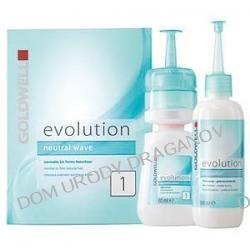 Goldwell Evolution, płyn do trwałej ondulacji, typ 1, do włosów naturalnych, od naturalnych po delikatne, zestaw