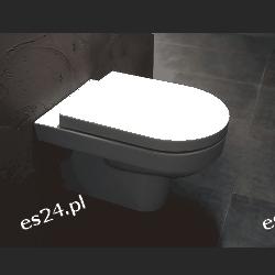 Misa WC podwieszana Arctus z deską wolnoopadającą  Muszle