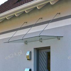 Daszek nad drzwi zadaszenie nad drzwi 200/90cm Wanny