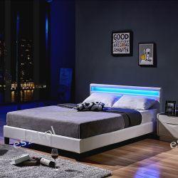 Łóżko LED Astro białe 140/200 cm Panele i zestawy prysznicowe