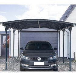 Wiata Garażowa Falo Aluminiowa Poliwęglanowa Markizy