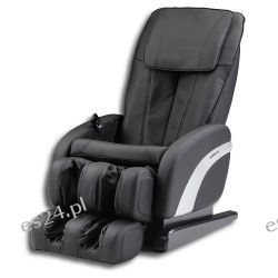 Fotel z masażem Sueno Czarny Zdrowie i Uroda