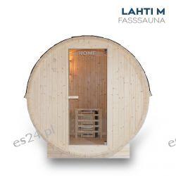 Sauna Fińska beczkowa zewnętrzna Lahti M Wyposażenie