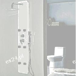 Panel prysznicowy Homedeluxe Dive Biały Pozostałe
