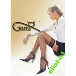 SEXY POŃCZOCHY SAMONOŚNE GATTA 3/4 2PARY KOLORY