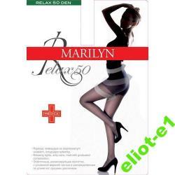 MARILYN  Rajstopy Relax 50 DEN SIZE 5