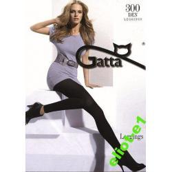 Legginsy damskie 300 den, GATTA size 2