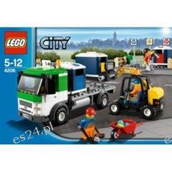 4206 - Ciężarówka Z Koszami Do Segregacji Śmieci (Recycling Truck)